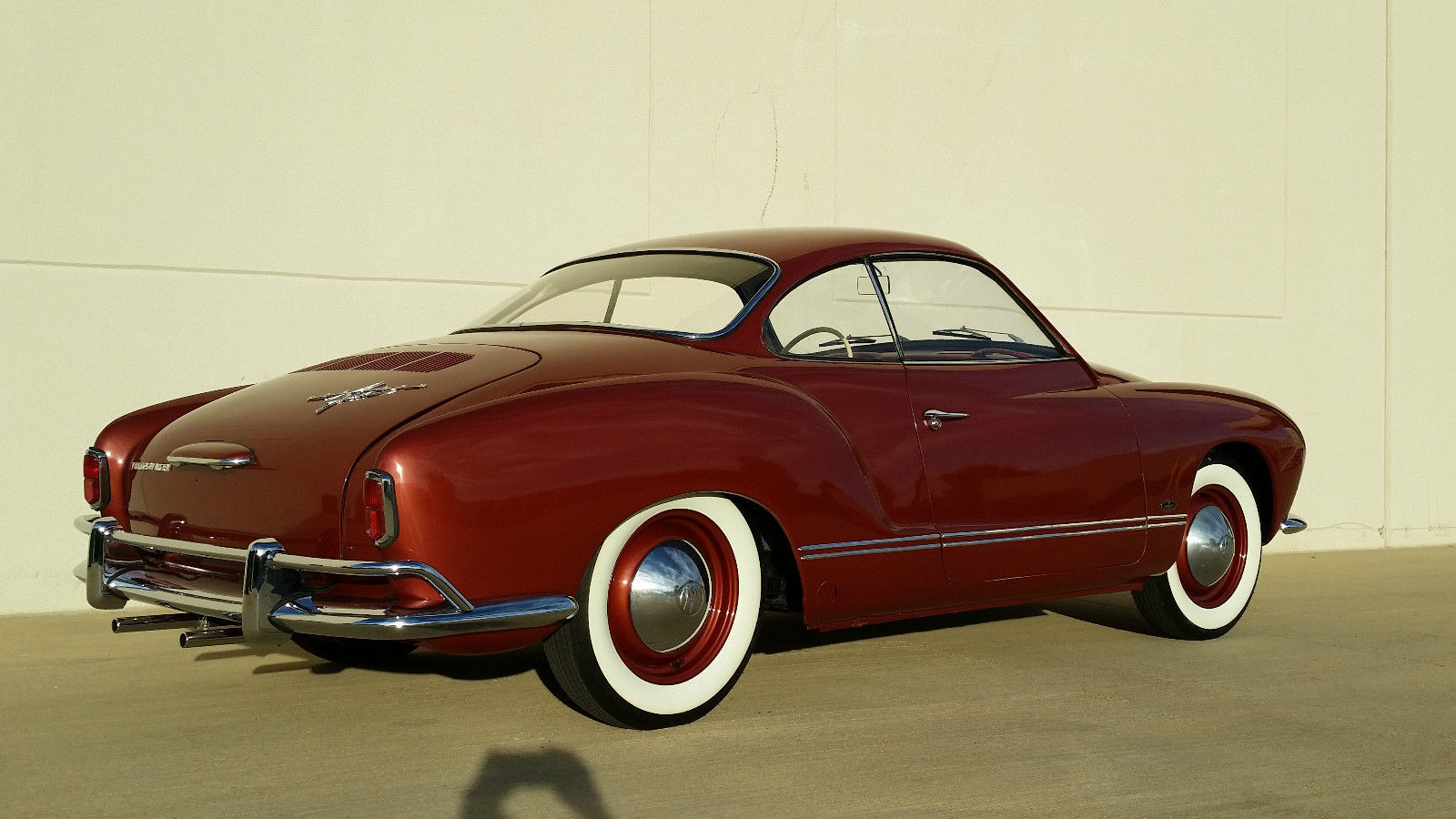 1959 Vw Karmann Ghia Low Light Coupe Vw Birth Cert