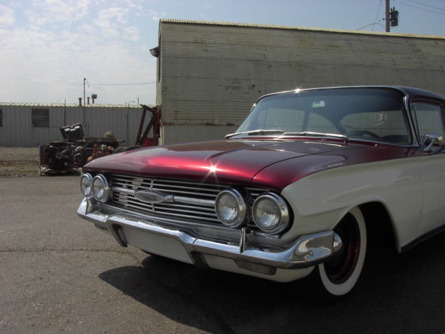 Bel Air Auto Auction >> 1960 60 Chevy Chevrolet Biscayne Bel air impala 307 700R4 Auto 348 tri power - Classic Chevrolet ...