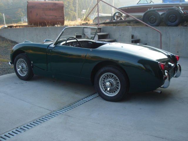 1960 Bugeye Sprite >> 1960 Austin Healey Bugeye or Frogeye Sprite cute British Racing GREEN nice car! - Classic Austin ...