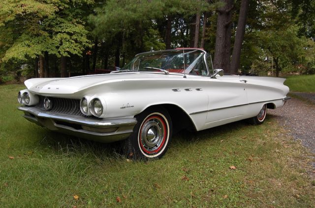 1960 buick lesabre convertible drives great v8 engine for Buick motors for sale