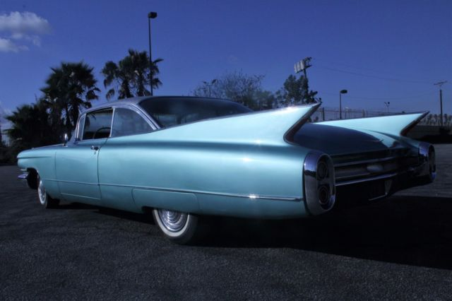 1960 Cadillac Custom Features New Paint And Interior