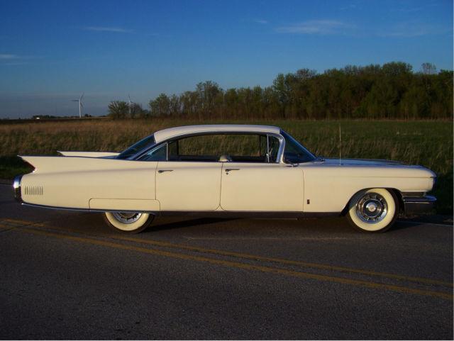 1960 Cadillac Fleetwood hardtop 53k miles creampuff survivor