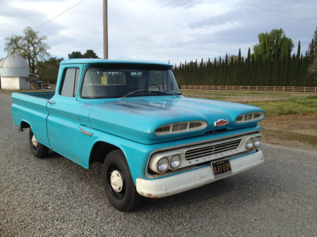 1960 chevrolet apache 10 truck c 10 pickup similar to 1961 classic chevrolet c 10 1960 for sale