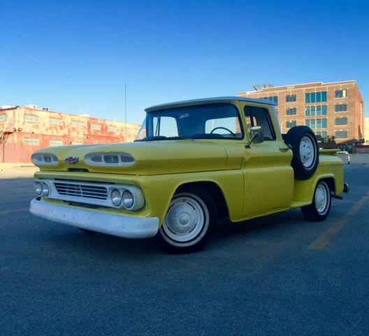 1960 chevrolet stepside pickup