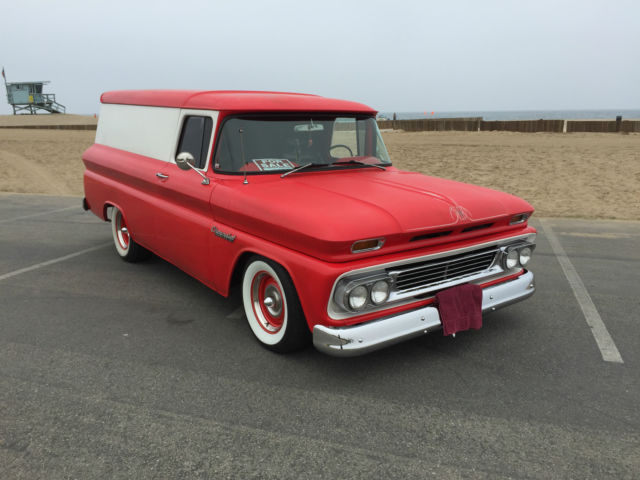 1960 Chevrolet Chevy C 10 Apache Delivery Panel Truck C10