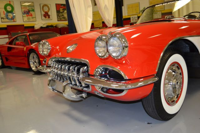 1960 Chevrolet Corvette 58435 Miles Red 2 Door Manual