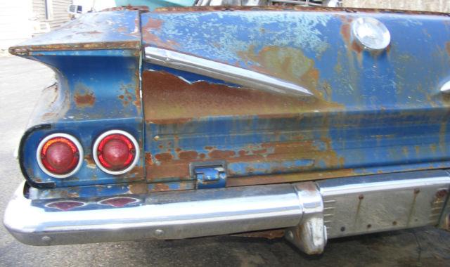 1960 CHEVROLET EL CAMINO PROJECT CAR 60 CHEVY ELCAMINO 1959