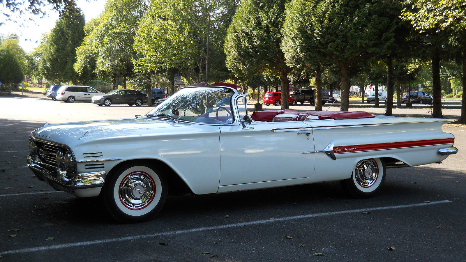 1960 chevrolet impala convertible 55 700 original miles matching 39 s car classic chevrolet. Black Bedroom Furniture Sets. Home Design Ideas