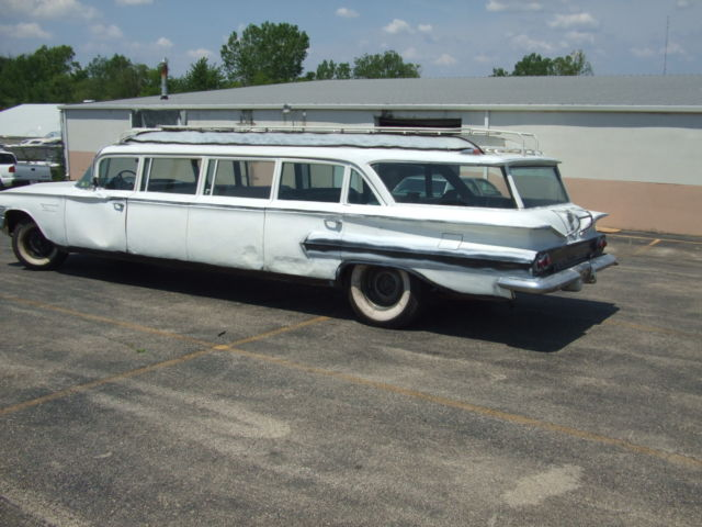 1960 chevrolet stageway 12 passenger limo classic. Black Bedroom Furniture Sets. Home Design Ideas