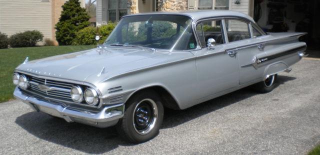 1960 Chevrolet Turn Key Driver 4 Door Impala Classic Chevrolet