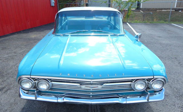 1960 CHEVY BEL AIR 4DR SEDAN TWO TONE,HOT ROD, CLASSIC ...