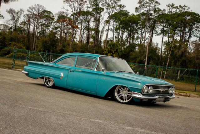 1960 Chevy Biscayne Impala Bel Air Patina Air Ride