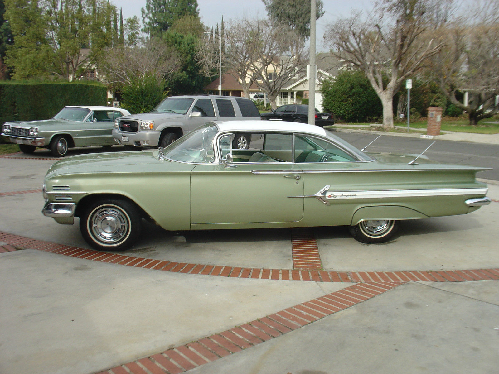 1960 Chevy Impala Coupe Mint Green Ac Car 1958 1959 1961 1962 Ss Chevrolet