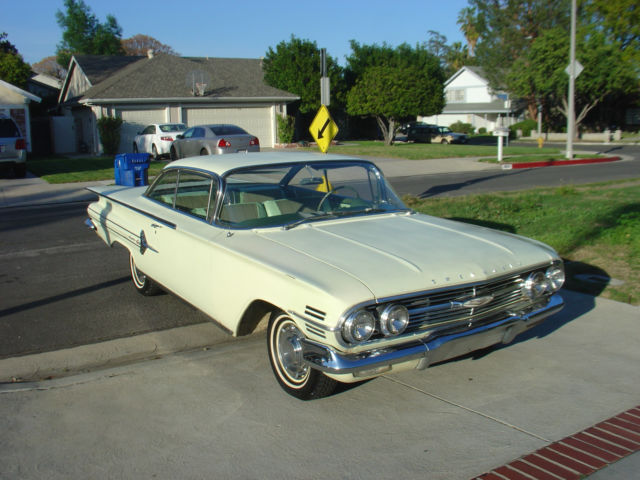 Chevy Dealership Los Angeles >> 1960 Chevy Impala Coupe ORIGINAL PAINT bubbletop 1959 1961 1962 1963 1964 1965 - Classic ...