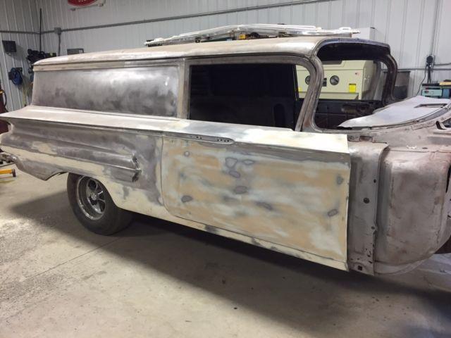 1960 Chevy Sedan Delivery Wagon Ratrod - Classic Chevrolet