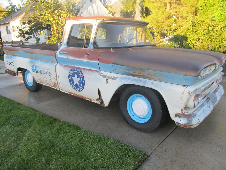 1960 Chevy Shop Truck Rat Rod Hot C10 Apache Patina 2wd 1 Wiring Harness 2 Ton