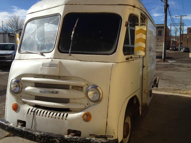 1960 Dodge Duravan SMILEY VAN vintage step van Food truck Marketing vehicle - Classic Dodge
