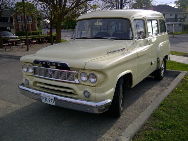 1960 Dodge Town Wagon Power Wagon Panel Van Fargo Plymouth