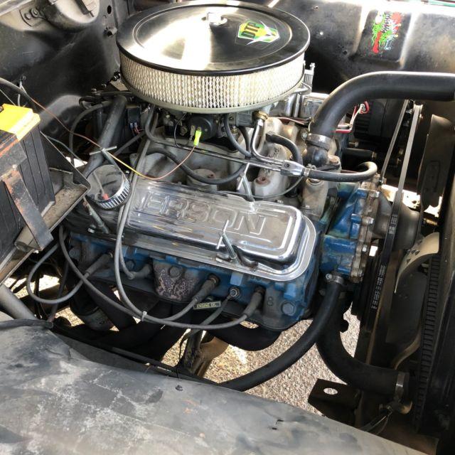 1960 Ford F100 455 Pontiac Big Block Engine 400 Turbo Transmission