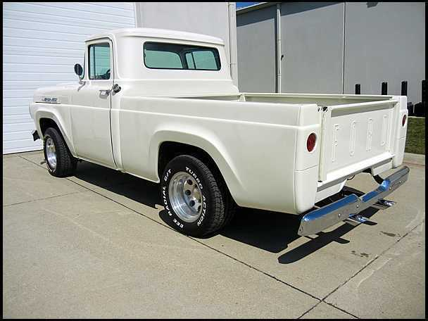 1960 Ford F100 Pickup Frame off restoration - Classic Ford F-100 ...