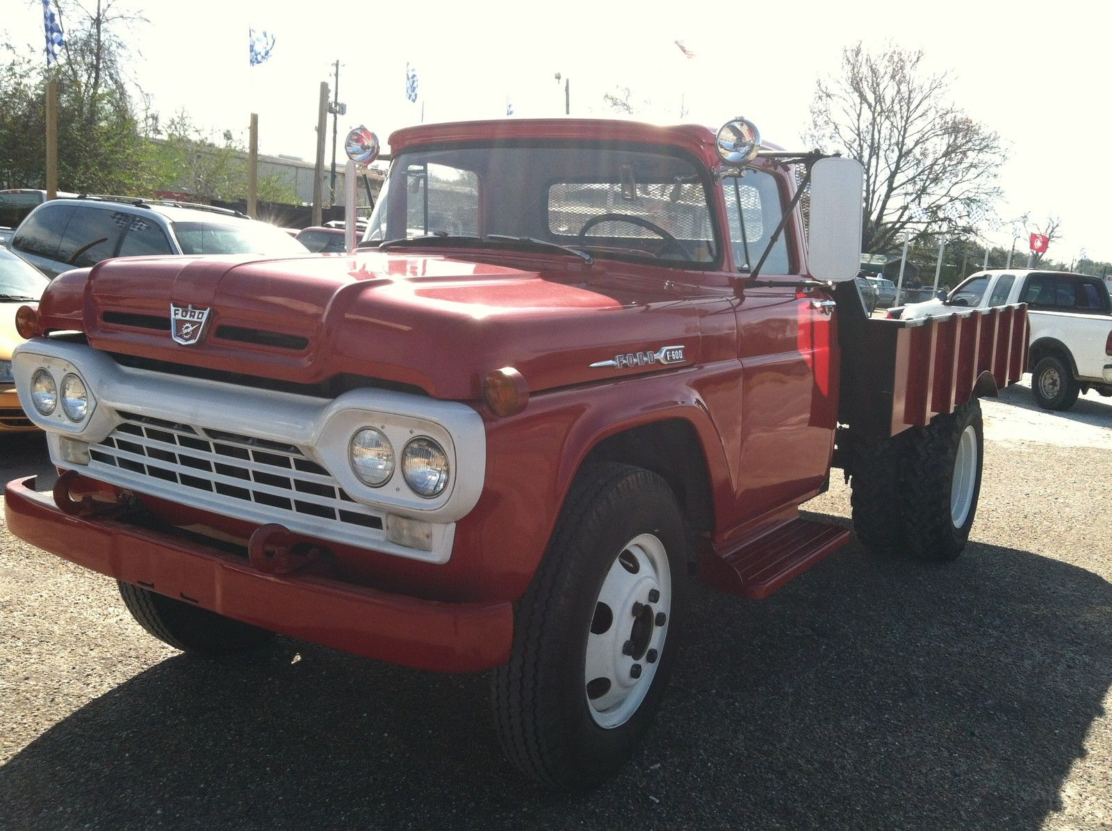 1960 FORD F600 DUMP TRUCK TOTALLY RESTORED 4 SPEED DULLEY ...