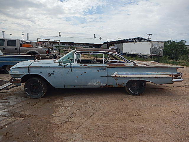 1960 impala 2 door hard top from roswell new mexico barn find parts project car classic. Black Bedroom Furniture Sets. Home Design Ideas