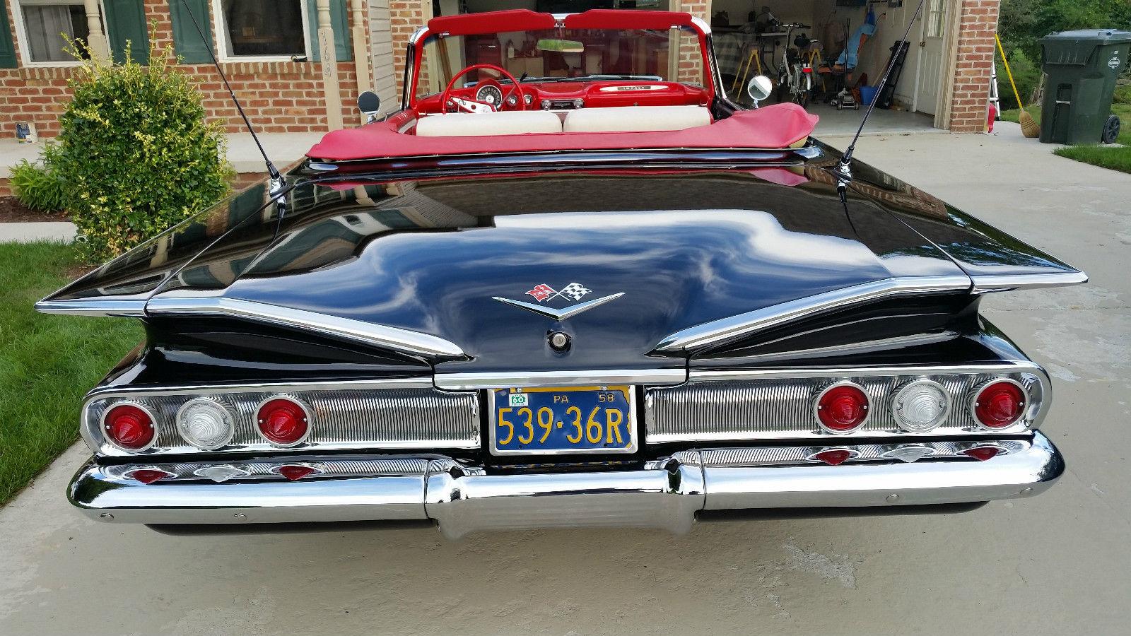 1960 Impala Convertible Classic Chevrolet Impala 1960