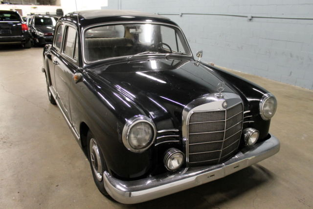 1960 mercedes benz 190d 190 series diesel no reserve classic mercedes benz 190 series 1960. Black Bedroom Furniture Sets. Home Design Ideas