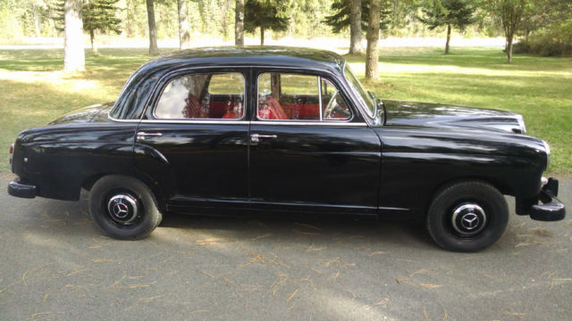 1960 mercedes benz 190d ponton diesel w180 classic mercedes benz 190 series 1960 for sale. Black Bedroom Furniture Sets. Home Design Ideas