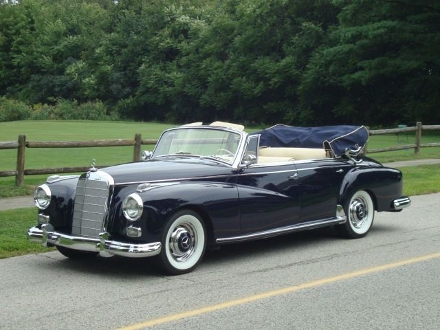 1960 mercedes benz 300d 4 door cabriolet classic for Mercedes benz classic cars