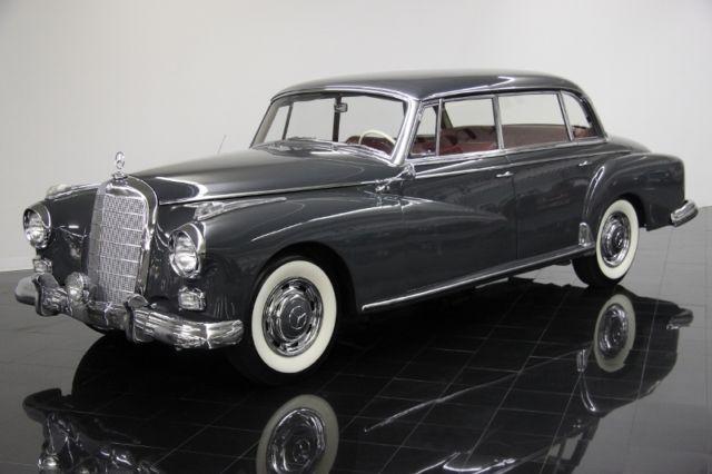 1960 mercedes benz 300d adenauer saloon rare classic for Rare mercedes benz