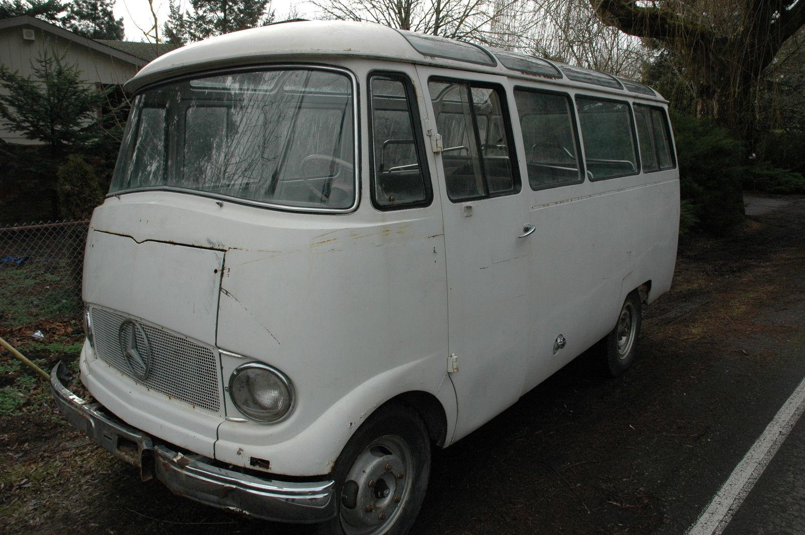 1960 mercedes benz o319d 319 panorama bus ultra rare for Mercedes benz 319 bus for sale