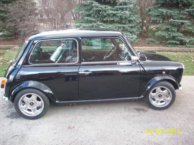 1960 mini cooper morris mini hot rod classic mini. Black Bedroom Furniture Sets. Home Design Ideas