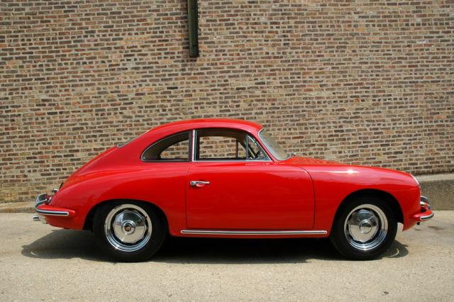 1960 porsche 356 b coupe classic porsche 356 1960 for sale. Black Bedroom Furniture Sets. Home Design Ideas