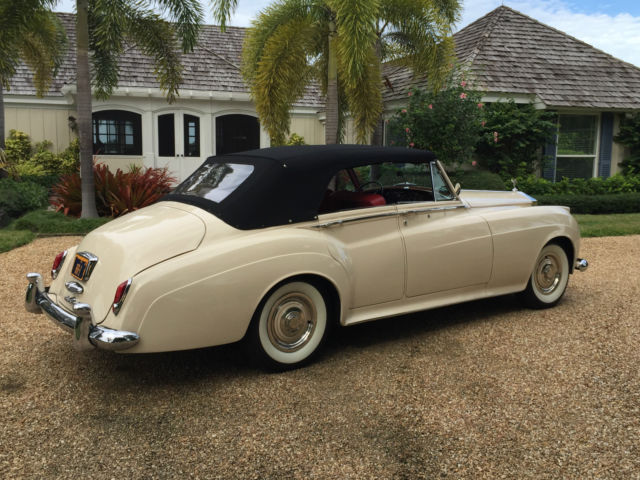 1960 rolls royce four door convertible rare national award winner just restored classic rolls. Black Bedroom Furniture Sets. Home Design Ideas