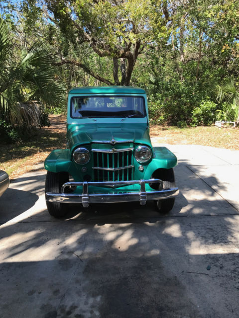1960 Willys Jeep Overland Rare 4 Speed Model Maverick Model Rare Antique Classic Willys