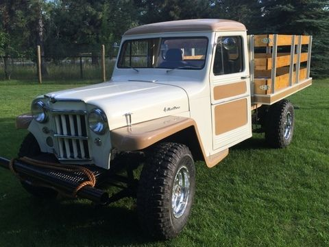 1960 willys jeep pickup truck restored classic willys willys 1960 for sale. Black Bedroom Furniture Sets. Home Design Ideas