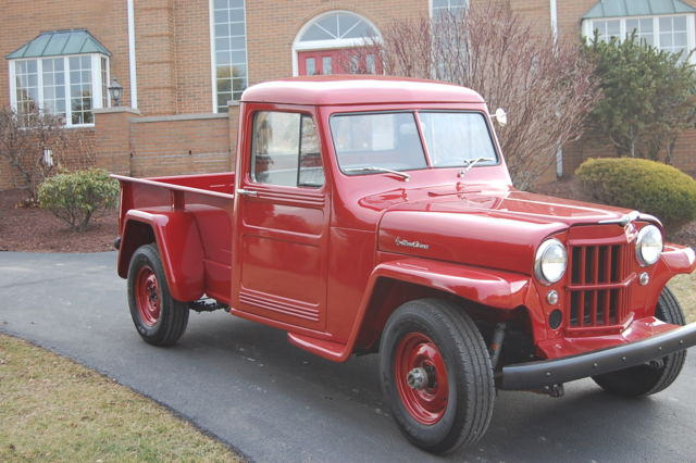 1960 willys jeep truck fully restored wow super nice classic willys 1960 for sale. Black Bedroom Furniture Sets. Home Design Ideas