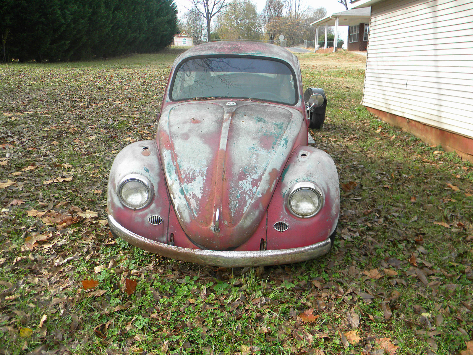 1960s Vw Beetle For Parts Or Restore Classic Volkswagen