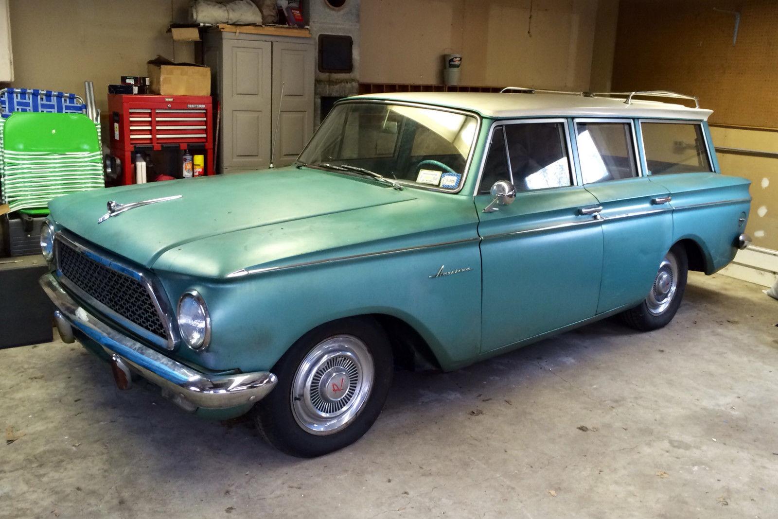 1961 Amc Rambler American Wagon Custom Classic Surf