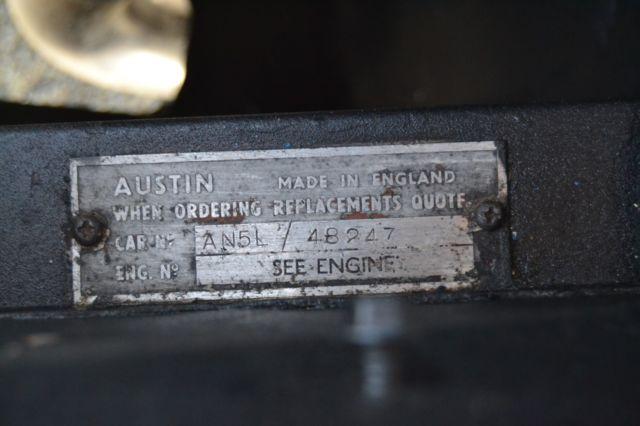 1961 Austin Healey Sprite Bugeye Frogeye Weekend Driver