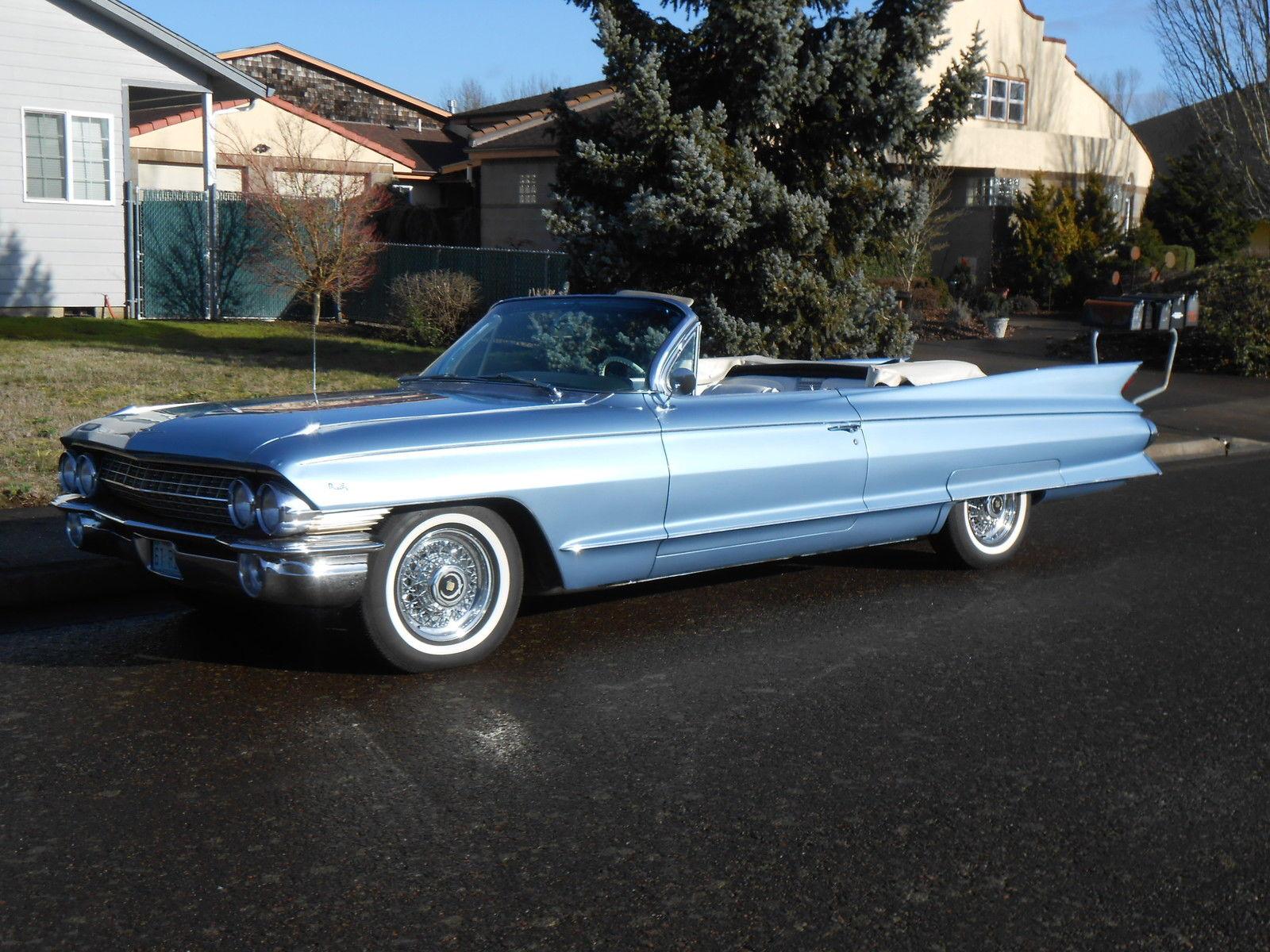 1961 Cadillac Eldo Biarritz Convertible Restoredrare Bucket Seats Sedan Deville Eldorado