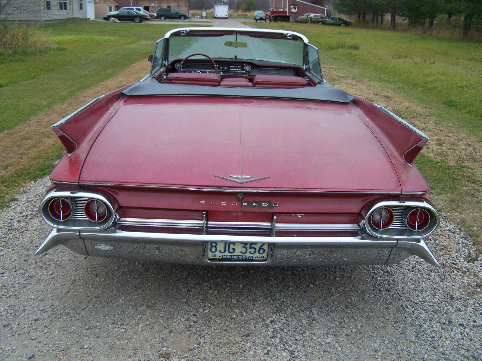 1961 Cadillac Eldorado Convertible In Storage For Over 25 Years Fleetwood Engine