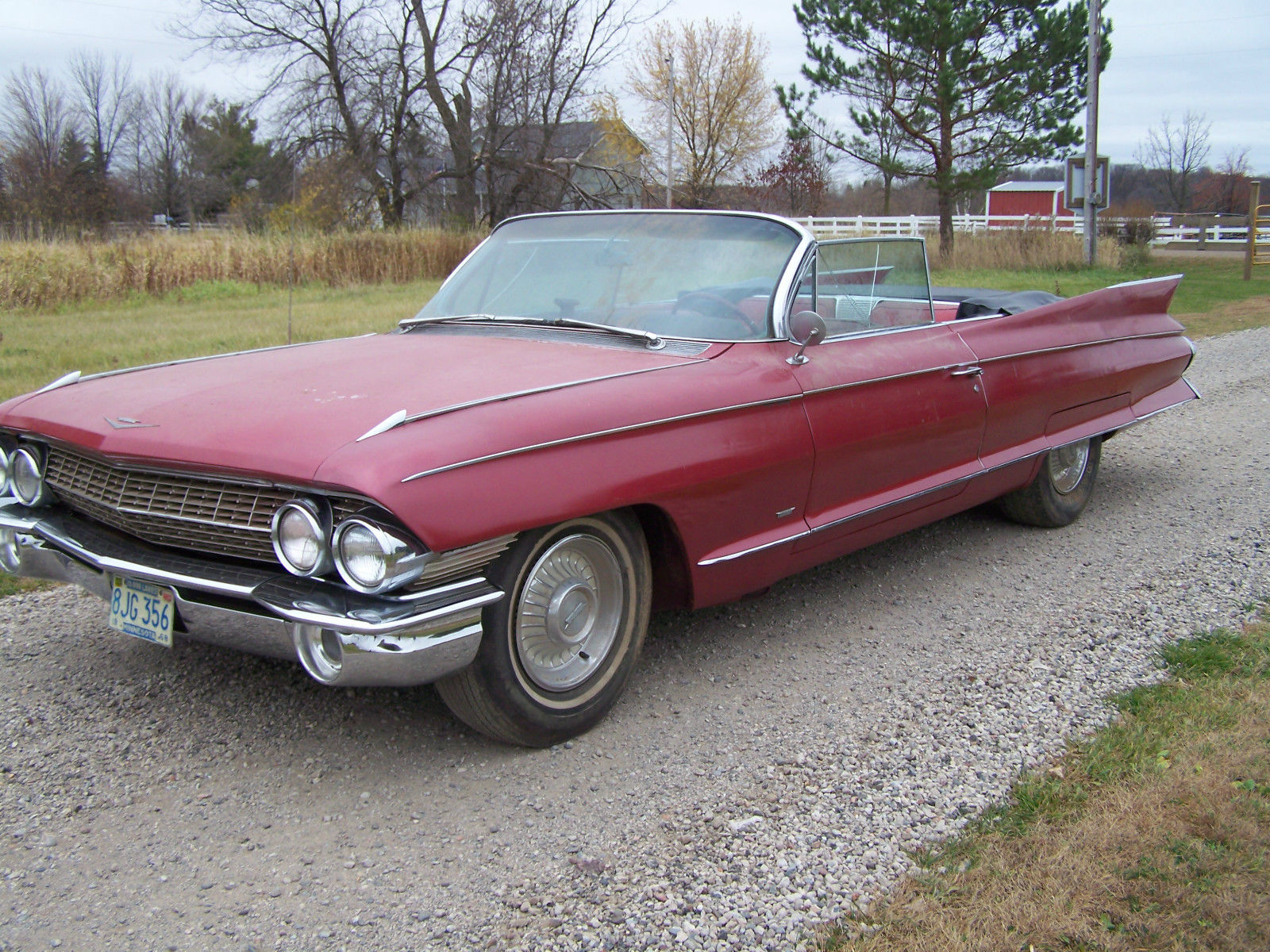 1961 Cadillac Eldorado Convertible In Storage For Over 25