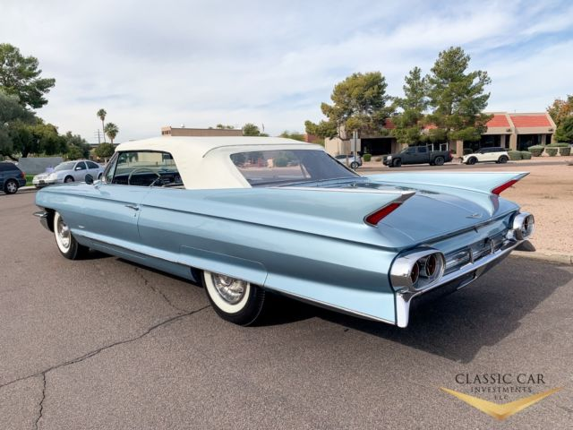 1961 Cadillac Series 62 Convertible Beautiful Car Rare
