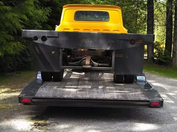 1961 Chevrolet Apache Flatbed V 8 Project No Reserve Also