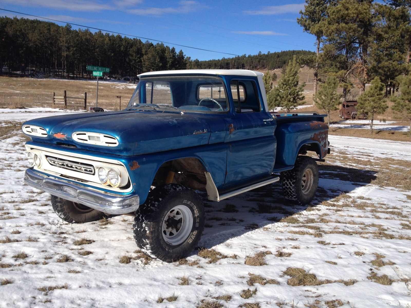 1961 Chevrolet Apache4x4short Box Classic Other Chevy C10 Pickup Truck Pickups For Sale