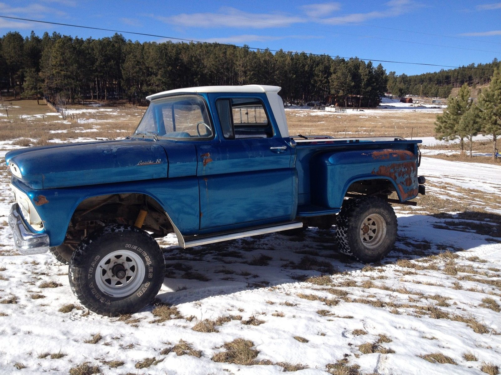 1961 Chevrolet Apache4x4short Box Classic Other Chevy Apache Pickup Truck Pickups