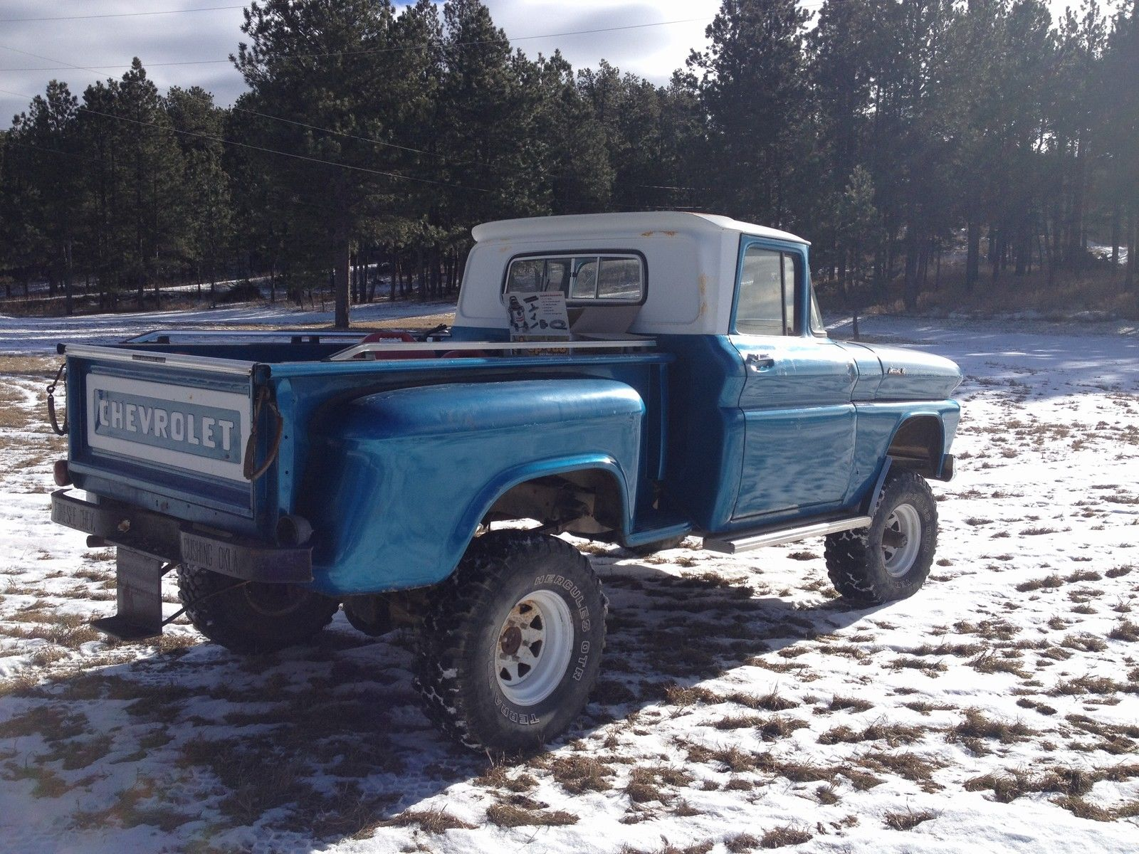 1961 chevrolet apache 4x4 short box classic chevrolet other pickups 1961 for sale. Black Bedroom Furniture Sets. Home Design Ideas