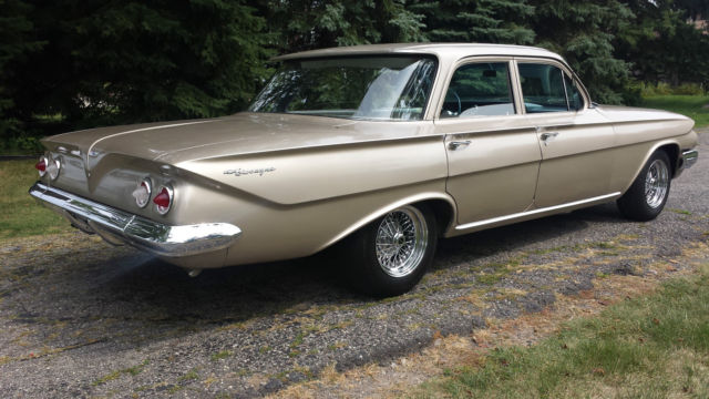 1961 Chevrolet Biscayne Original 22 000 Miles Paint And